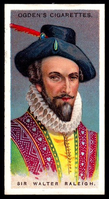 Cigarette Card - Sir Walter Raleigh