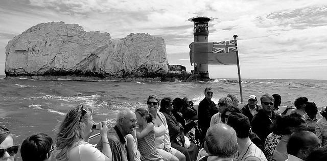 The Needles boat trip.