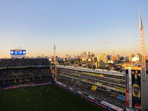 La bomboniera, stadium in La Boca