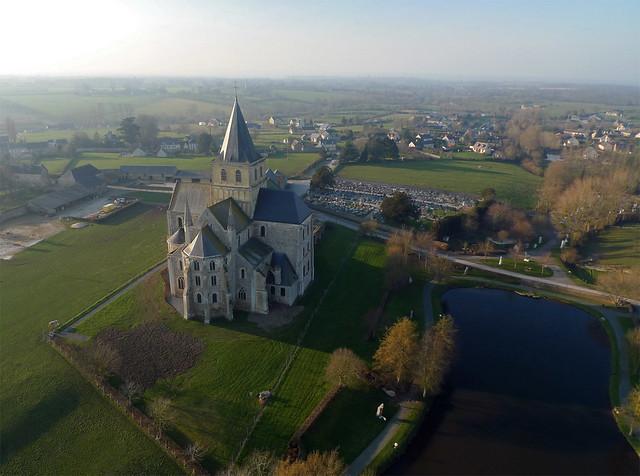 Abbaye Saint-Vigor de Cerisy-la-Forêt (Manche-FR)