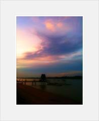 Sunset from Changi Sailing Club
