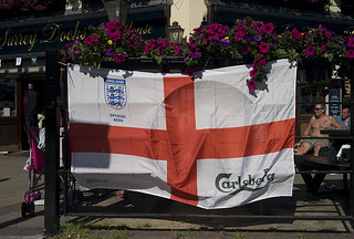 st george flag world cup 2010