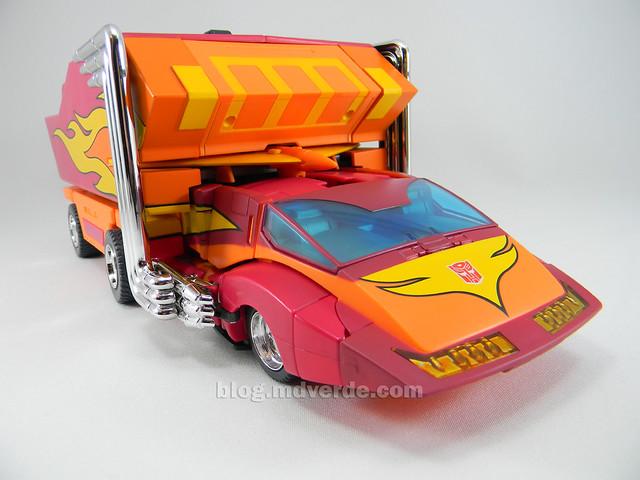Transformers Rodimus Prime Masterpiece - modo alterno