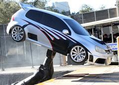 automobile, automotive exterior, wheel, vehicle, automotive design, rim, volkswagen gti, city car, compact car, bumper, land vehicle,
