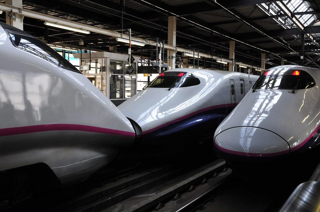 盛岡駅新幹線ホーム