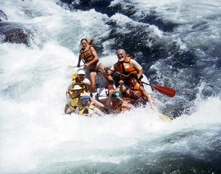 Trouble Maker Rapids, South Fork American River 1985