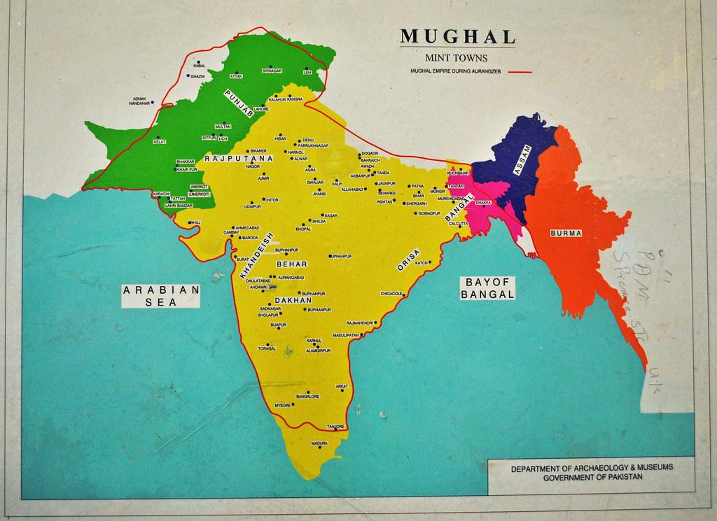 Mughal Empire During Auranghzeb Umerkot Museum Irfan Ahmed Flickr