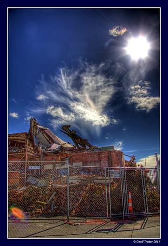 old newzealand christchurch art canon earthquake nz paintshoppro hdr chch photomatix 50d canterburynz 3exp canon50d geofftrotter christchurchearthquake christchurchearthquake2011