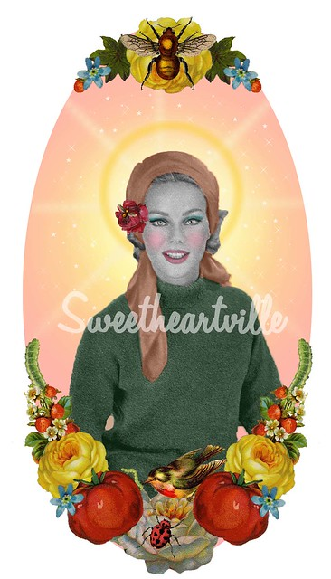st flora, patron saint of gardening
