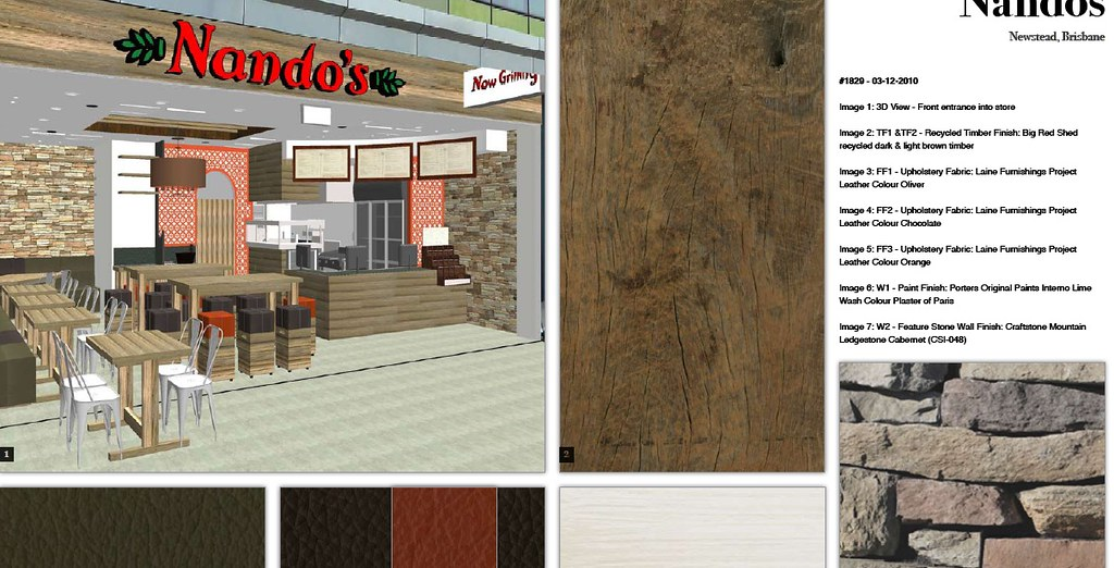 1829 Nandos Newstead colour board