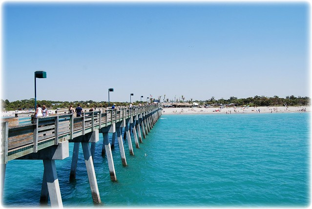 Venice fishing pier flickr photo sharing for Fishing piers in florida