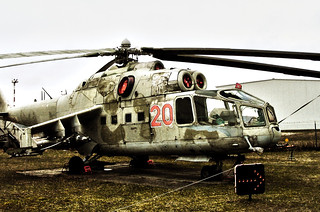 Mil Mi-24 Helicopter Gunship