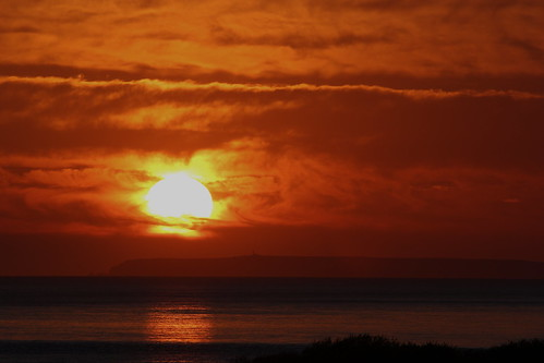 19-04-14 Sundown over Lundy Island