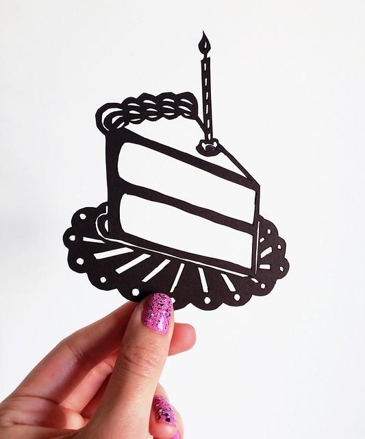Original Cake Papercut