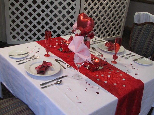 Valentines Day Table Setting | Home Design