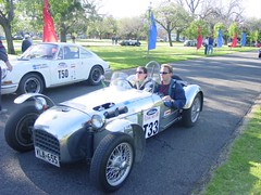 lotus seven(0.0), touring car(0.0), caterham 7 csr(0.0), caterham 7(0.0), race car(1.0), automobile(1.0), vehicle(1.0), open-wheel car(1.0), mk indy(1.0), classic car(1.0), vintage car(1.0), land vehicle(1.0), sports car(1.0),