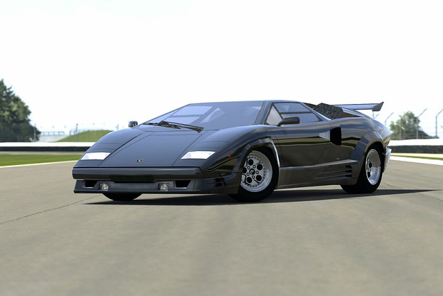 lamborghini countach 25th anniversary ps3 gt5 flickr photo sharing. Black Bedroom Furniture Sets. Home Design Ideas