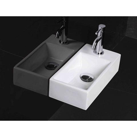 Small cloakroom basin flickr photo sharing for Small bathroom basins