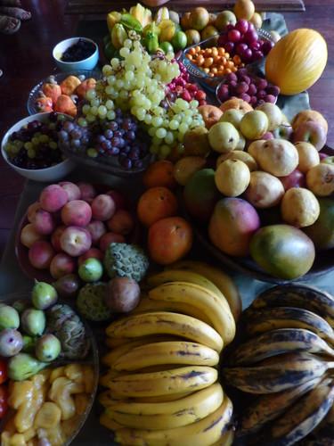 Frutas: suas cores e sabores