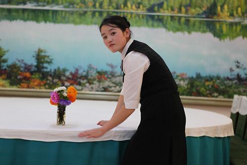 North Korea - Waitress
