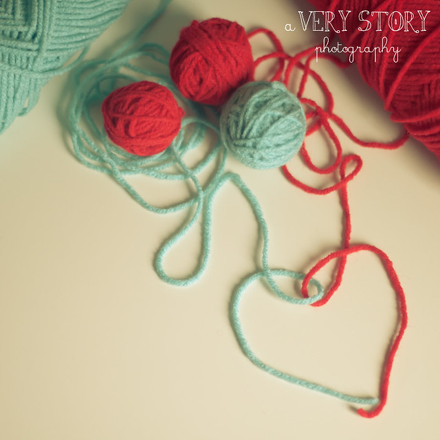 Knitting Hearts Together : Hearts knit together flickr photo sharing