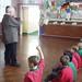 Stanley Rondeau visiting Rhiwbeina Junior School
