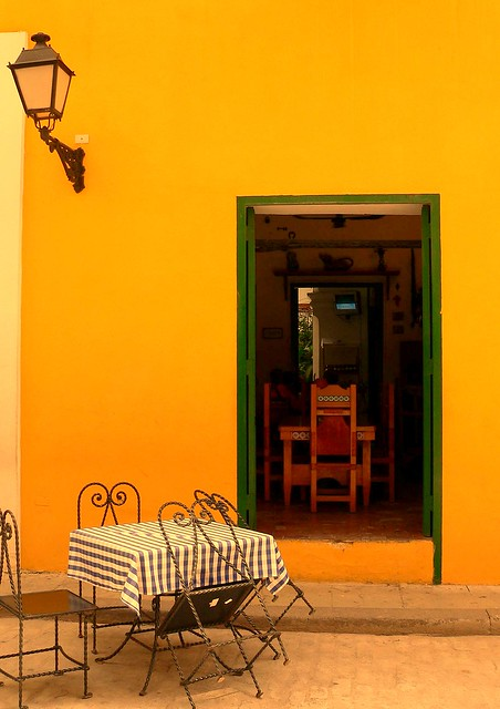 Spanish table and chair #Nerja # Andalusia #dailyshoot 365