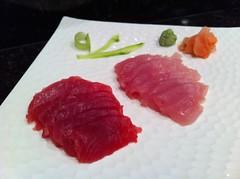 Ahi & albacore sashimi