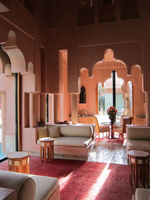 Hotel Amanjena at Marrakech, Morocco
