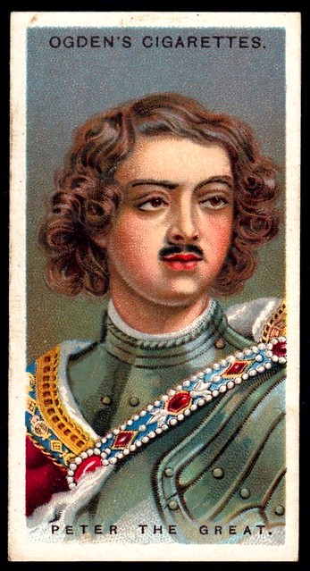 Cigarette Card - Peter the Great