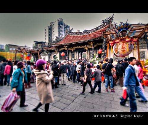 台北市艋舺龍山寺 Lungshan Temple