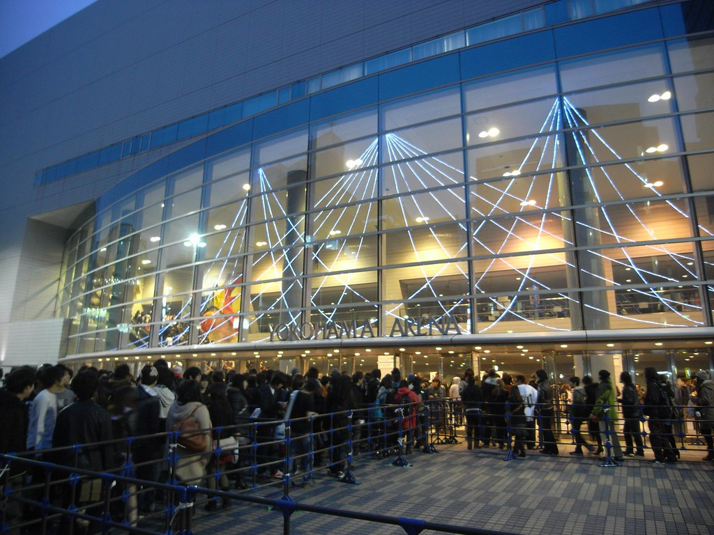 MCR live at yokohama arena.