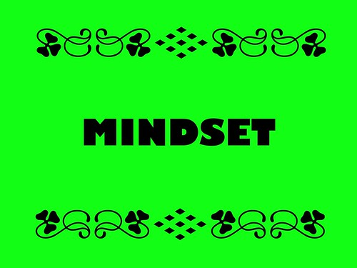 Buzzword Bingo: Mindset = Assumptions, methods, or notations held by one or more people #buzzwordbingo