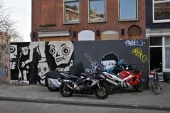 'Schuttingtaal' van Hogendorpstraat Amsterdam