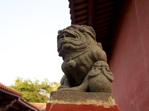 Stone lion