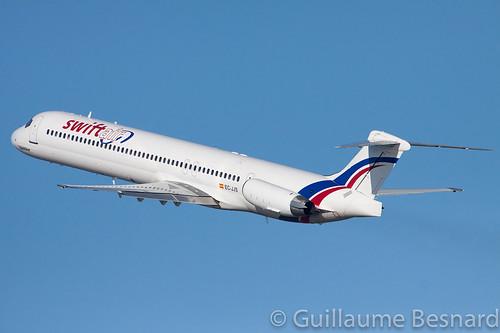 McDonnell Douglas MD-83 Swiftair EC-JJS cn 49793/1656