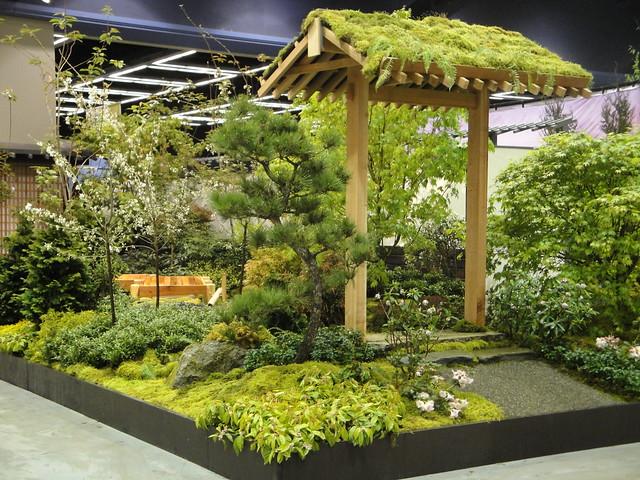 Japanese garden corner entrance flickr photo sharing for Japanese garden entrance