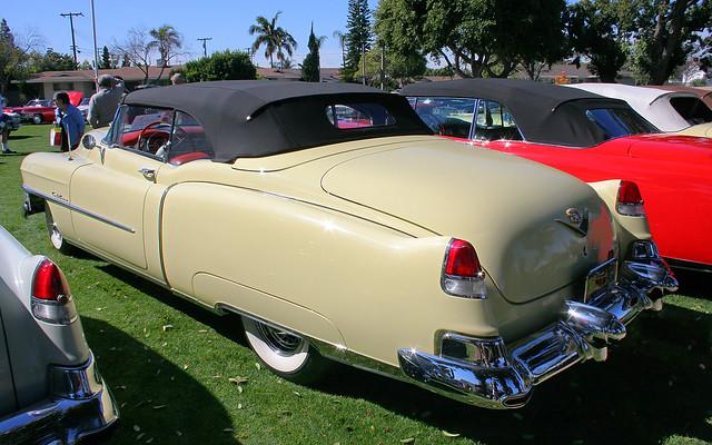 1953 Cadillac Eldorado Convertible - yellow -  rvl