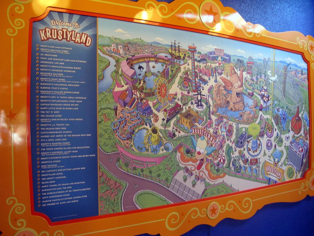 Universal Orlando Universal Studios Florida The Simpso Flickr