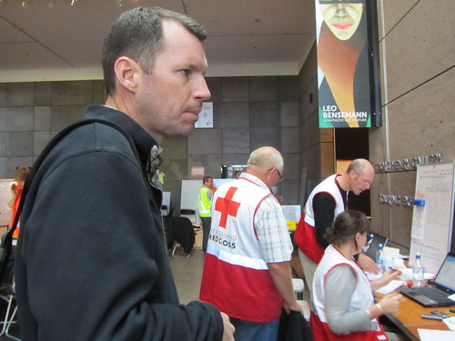 I worked alongside the NZ Red Cross