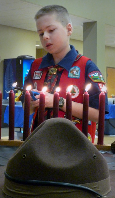 Pack 52 Blue and Gold Banquet - A Scout is Obedient...