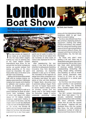 Sports & Fitness Magazine Article