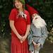 Waldorf inspired Gnome Couple by Textile Art/Needle Felting