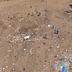soil, sand, pollution, waste,