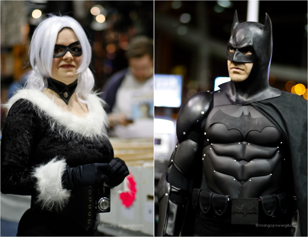 black cat & batman