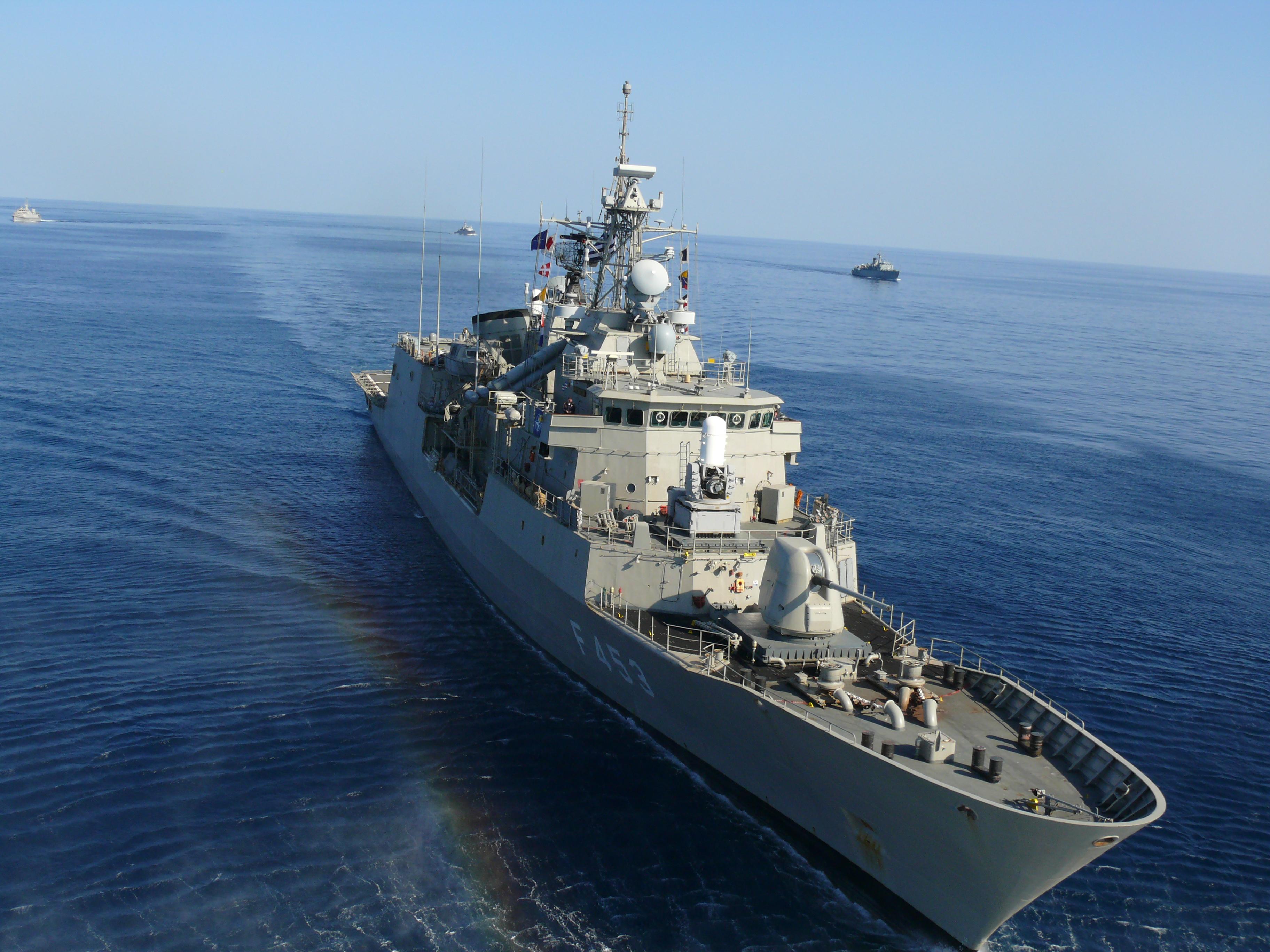 Greek frigate Spetsai