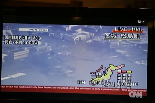 Matsushima after the tsunami / 松島 津波の後