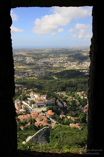 View on Palácio Nacional de Sintra (Paço Real)