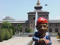 Obama Gnome in India