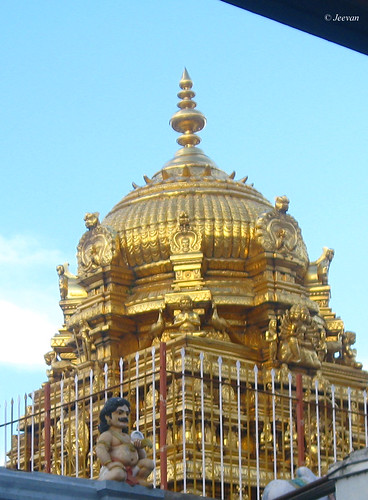 Golden gopuram